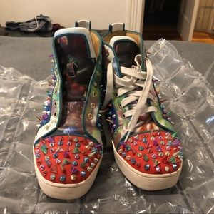 Authentic Christian Louboutin spike shoes